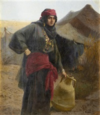 a berber water carrier by tony binder