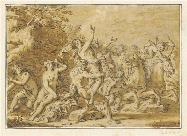 the rape of proserpine by davide antonio fossati