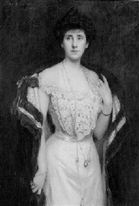 portrait of mrs. john hebb morrison by charles a. buchel