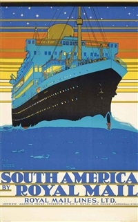 south america by royal mail by kenneth shoesmith