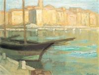 harbor from saint-tropez by paul scortesco