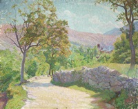 paysage de provence by georges daniel monfreid