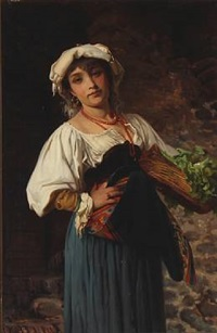 an italian woman by wenzel ulrik tornoe