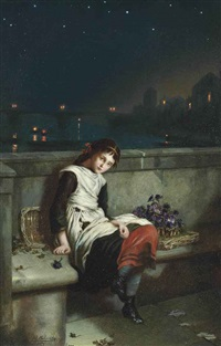 from morn til night by augustus edwin mulready