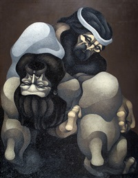 la muerte de cruz - serie martin fierro by ricardo carpani