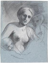 allegorie der caritas by sisto badalocchio