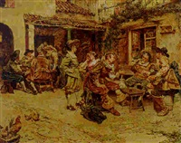 outside the tavern by maximo juderias caballero
