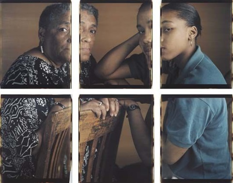 martina and her grandmother, chicago (6 works) by dawoud bey