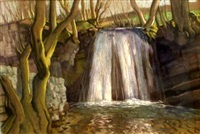 waterfall by harry epworth allen