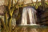 waterfall by harry epworth allen