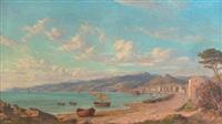 bord de mer aux alentours de toulon by emmanuel coulange-lautrec