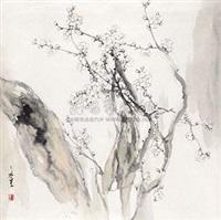 白梅 by liu wensheng