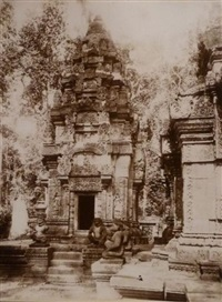 angkor-vat (suite of 67 works & text by h. marchal) by paul gastaldi