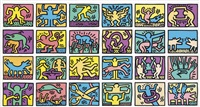 retrospect by keith haring