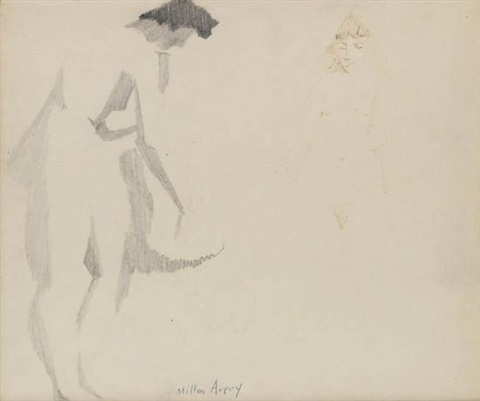 two nudes by milton avery