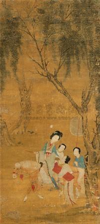 游春图 by qiu ying