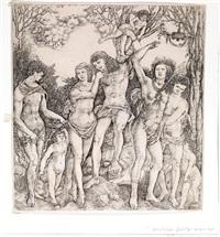 allegoria del potere dell'amore by cristoforo di michele robetta