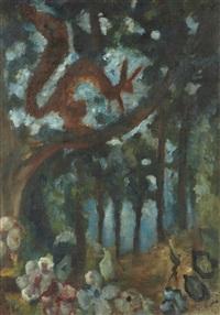 l'écureuil by édouard joseph goerg