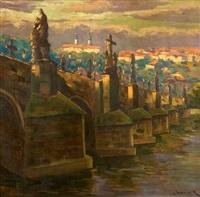karlův most by jaroslav simunek