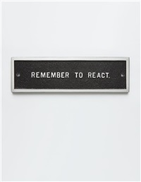 untitled (selection) (from survival series) by jenny holzer