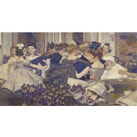 the cotillion by harry mills walcott