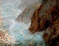 aux pieds de la falaise, les calanques by angelo abrate