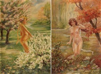 grazien (2 works) by hias goldmann