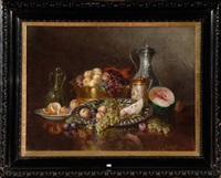 nature morte aux fruits by a. rauter-redtwitz