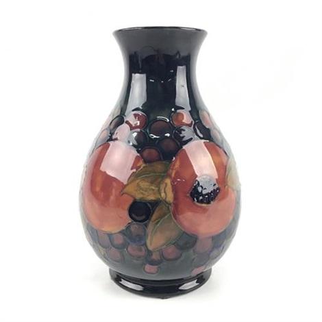 Moorcroft Pomegranate Vase By Moorcroft On Artnet