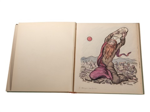 20 handcoloured bible heliotypes bk w20 works by alfred kubin