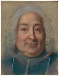 portrait of monseigneur vintimille du luc, archbishop of paris by maurice quentin de la tour