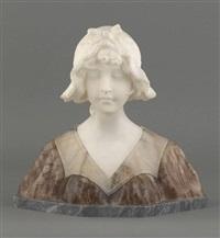 buste de jeune florentine by george van vaerenbergh