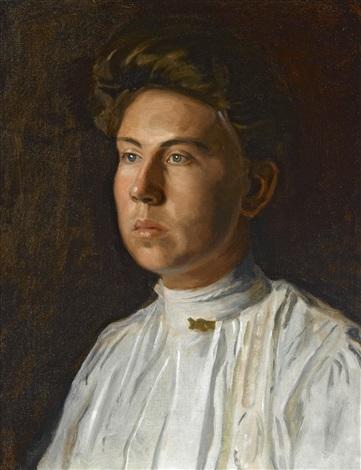 portrait of rebecca macdowell mrs j randolph garrett by thomas eakins