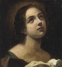 saint catherine of alexandria by francesco giovanni gessi
