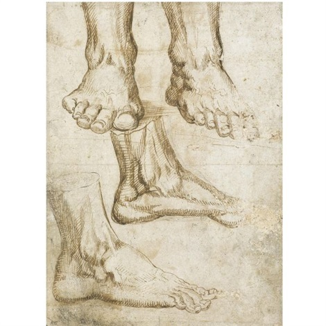 a right foot study by baccio bandinelli