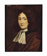 portrait of a gentleman in a brown robe by frans van mieris