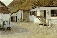 legende born på en gårdsplads, lolland by valdemar holger v. rasmussen magaard