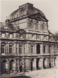pavillon de l'horloge au louvre, pl.4 by francois alphonse fortier