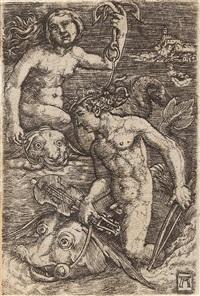 arion und nereide by albrecht altdorfer