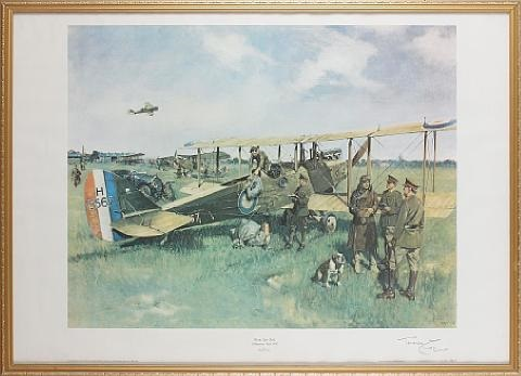 first air post by terence cuneo