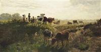 summer fields in southern germany by hermann baisch
