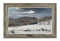 winter in the catskills by frank gervasi