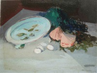 nature morte aux bluitres by george mirianon