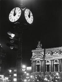 place de l'opera, paris by brassaï