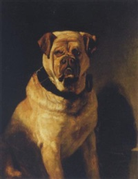 a mastiff by bernard de gempt