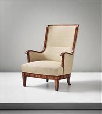 highback armchair by carl malmsten