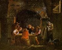 interno di taverna by roeland van laar