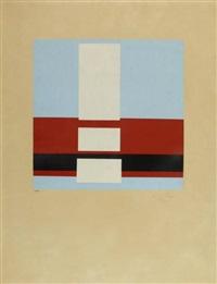 studie pro samostatnov bilou (une absolue) (from art d'aujourd'hui - maîtres de l'art abstrait) by frantisek kupka
