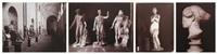sculptures du musée de naples et du musée des thermes de rome, italie (8 works) by giorgio sommer and james anderson