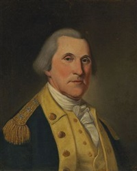 portrait of george washington by charles willson peale